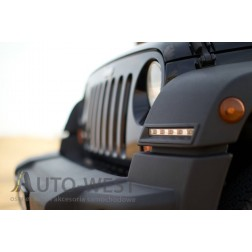 Jeep Wrangler Rubicon dzienne LED